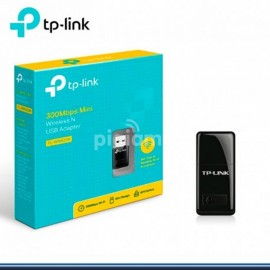 Adaptador Mini Wireless USB Wi-Fi 300 Mbps N TP-Link TL-WN823N
